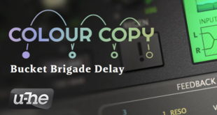 u-he Colour Copy Delay Plugin