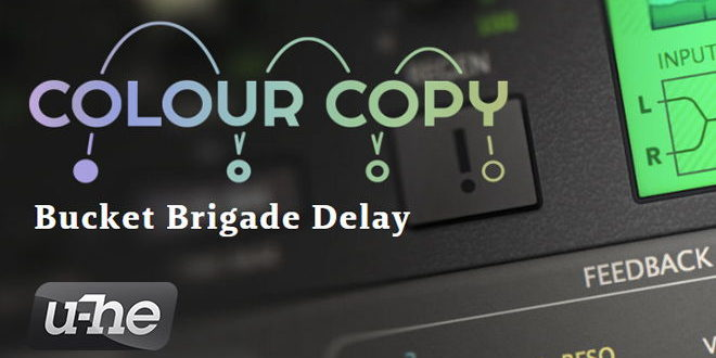 Colour Copy Delay VST Plugin Released by u-he