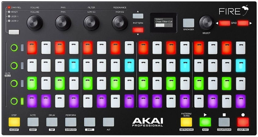 Akai Fire FL Studio Hardware Controller