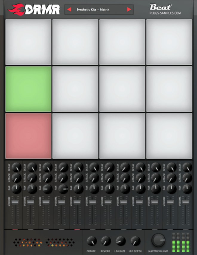drmr free drum vst plugin with 168 drum kits producerspot. Black Bedroom Furniture Sets. Home Design Ideas