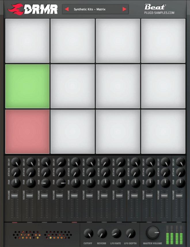 Beat DRMR Free Drum VST Plugin
