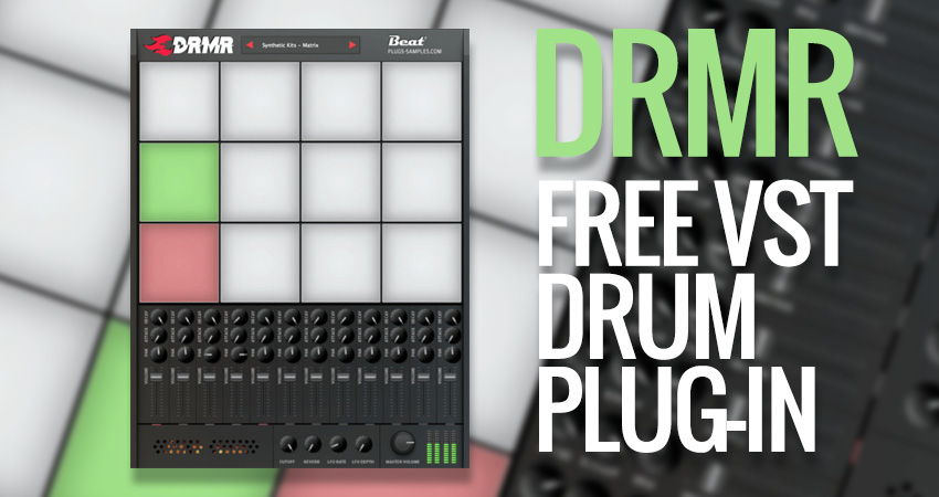 DRMR Free Drum VST Plugin