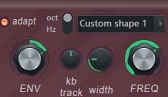 FL Studio Harmor Filter