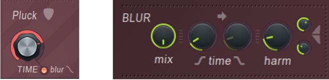 FL Studio Harmor Pluck BLUR