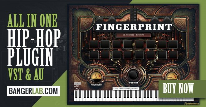 fingerprint hip hop vst instrument plugin producerspot. Black Bedroom Furniture Sets. Home Design Ideas