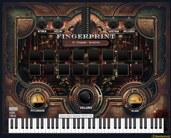 Fingerprint Hip Hop VST Plugin Instrument