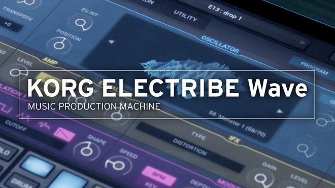 KORG ELECTRIBE Wave App for iPad