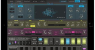 KORG ELECTRIBE Wave iPad App