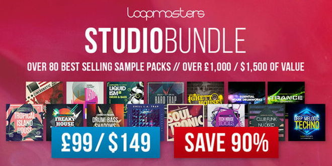 Loopmasters Presents Studio Bundle Sample Packs