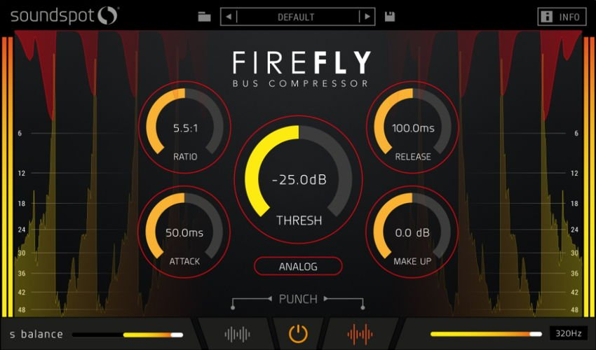 SoundSpot Firefly Compressor Plugin VST AU
