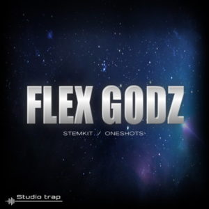 Studio Trap Flex Godz Audio Stems Drum Kits
