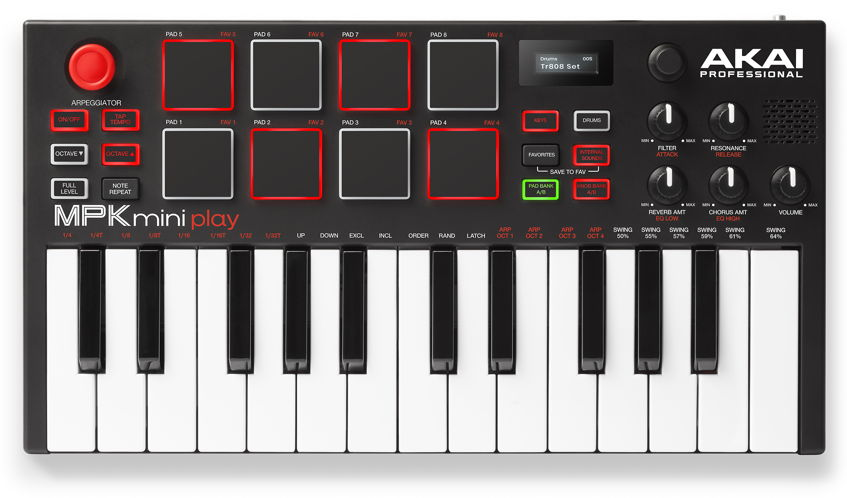 AKAI MPK Mini Play MIDI Keyboard