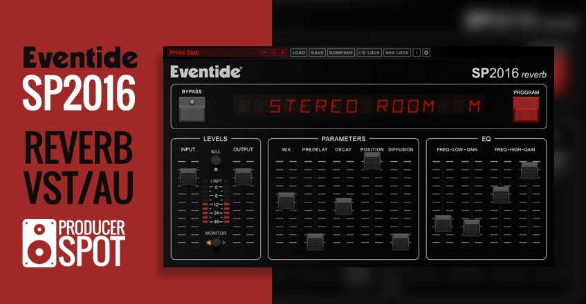 Eventide SP2016 VST Reverb Plugin