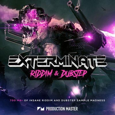 Exterminate Dubstep Samples Sound Pack