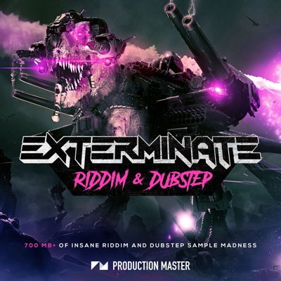 Exterminate Dubstep Samples Sound Pack