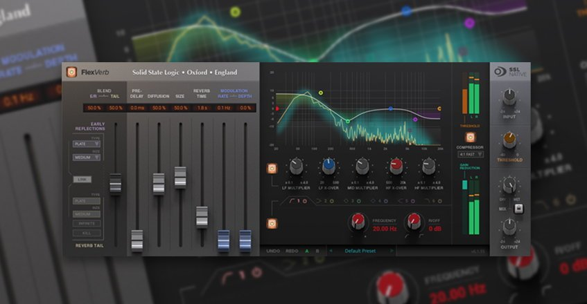 FlexVerb Reverb VST Plugin
