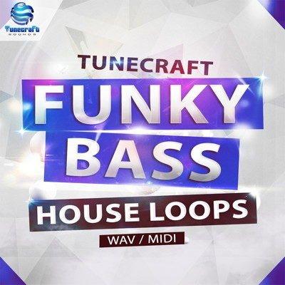 Funky Bass House Loops Wav MIDI Files