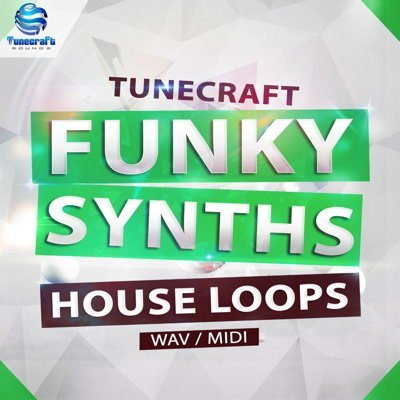 Funky Synths House Loops Wav MIDI Files