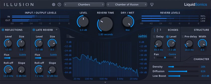 LiquidSonics ILLUSION Reverb VST Plugin
