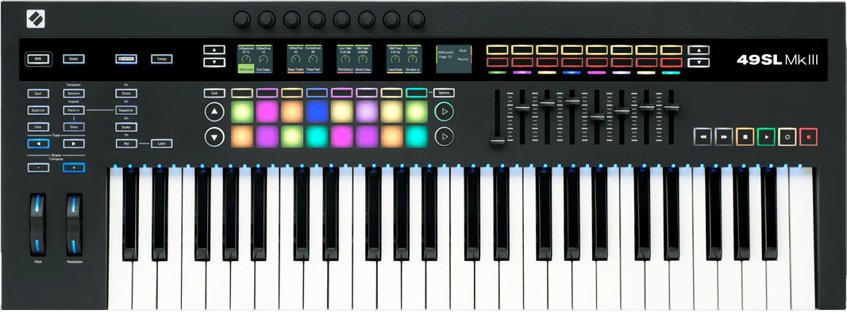 new novation sl mkiii keyboard controller  u2022 producerspot