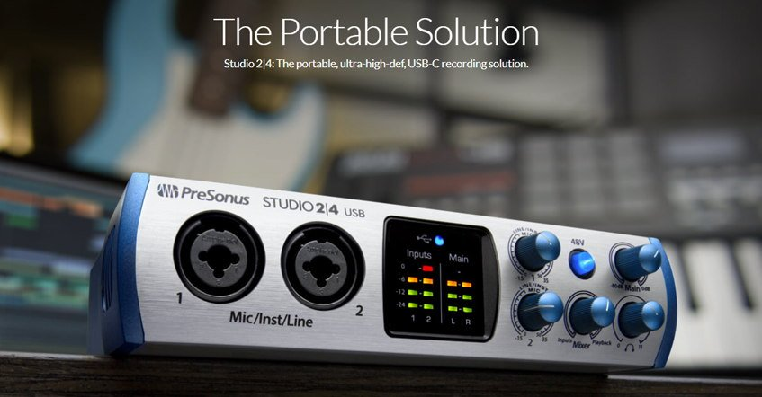 PreSonus Studio 24 Audio Interface