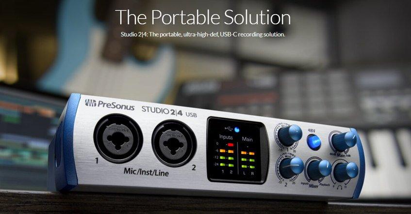 PreSonus Studio 24 Audio Interface