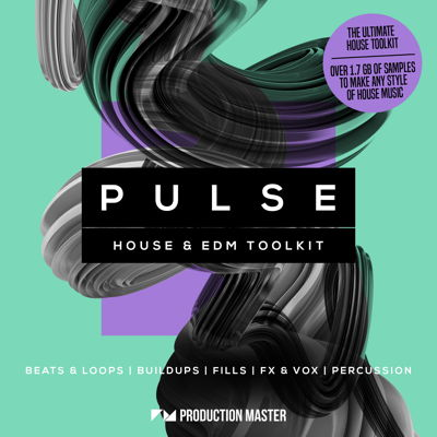Pulse - House & EDM Drum Kit Sample Pack