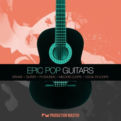 Epic Pop Guitars Loops, Royalty Free Samples