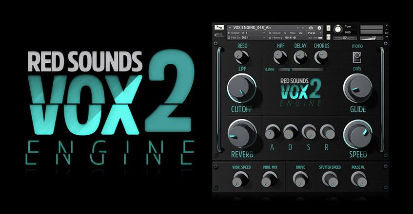 Red Sounds Vox Engine 2 Kontakt Instrument