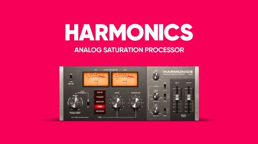 Softube Harmonics Analog Saturation Plugin