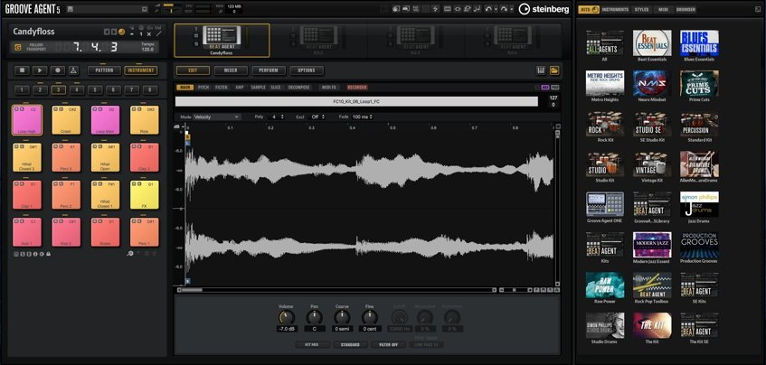 Steinberg Groove Agent 5 Drum Software
