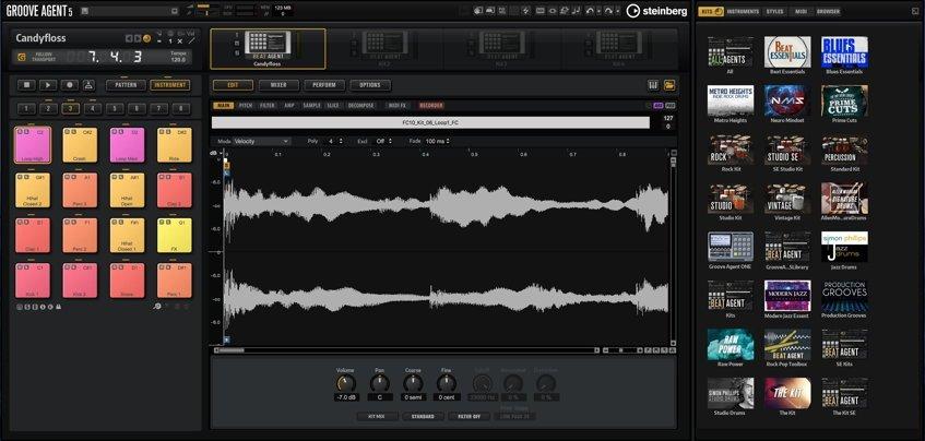 Steinberg Groove Agent 5 Drum Software