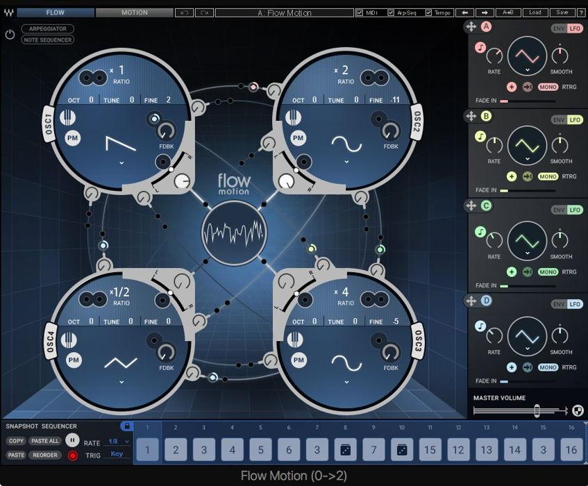 Waves Flow Motion FM Synth VST Plugin