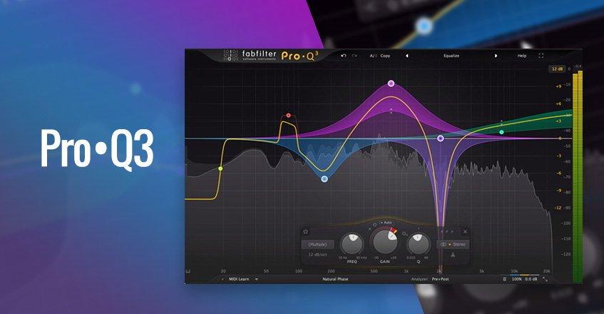 FabFilter Pro-Q 3 EQ Plugin