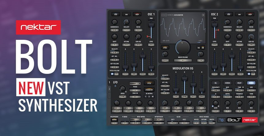 Nektar BOLT VST Synthesizer Plugin