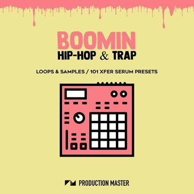 Production Master - Boomin Hip-Hop Drums & Trap Serum Presets