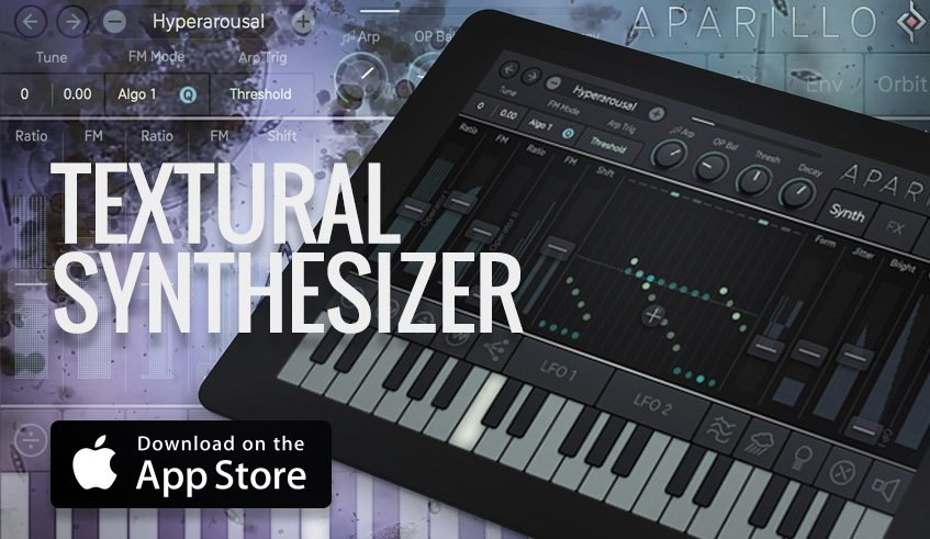 Sugar Bytes Aparillo iPad iOS Synthesizer App