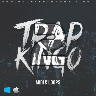 Trap Kingo 2 - Trap MIDI Loops Pack
