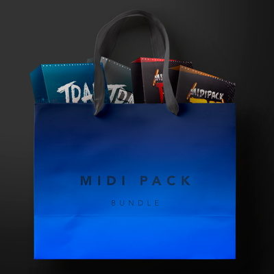 Trap MIDI Pack Bundle - MIDI Loops Pack