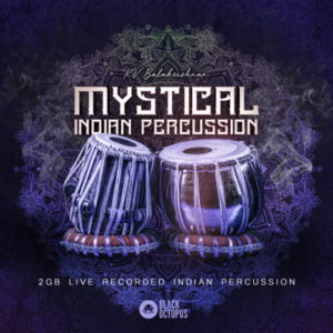 Black Octopus - Mystical Indian Percussion - Live Drum Samples