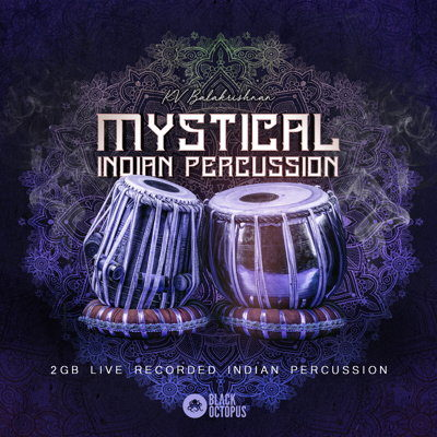 Black Octopus - Mystical Indian Percussion - Live Drum Samples