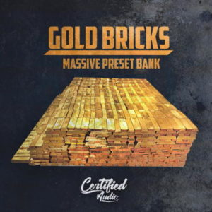 Certified Audio - Gold Bricks NI Massive Preset Bank