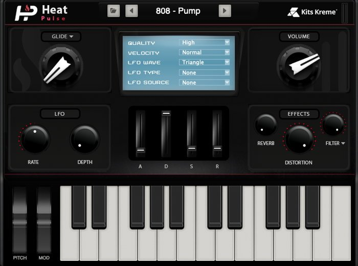 Heat Pulse - Hip Hop VST Instrument