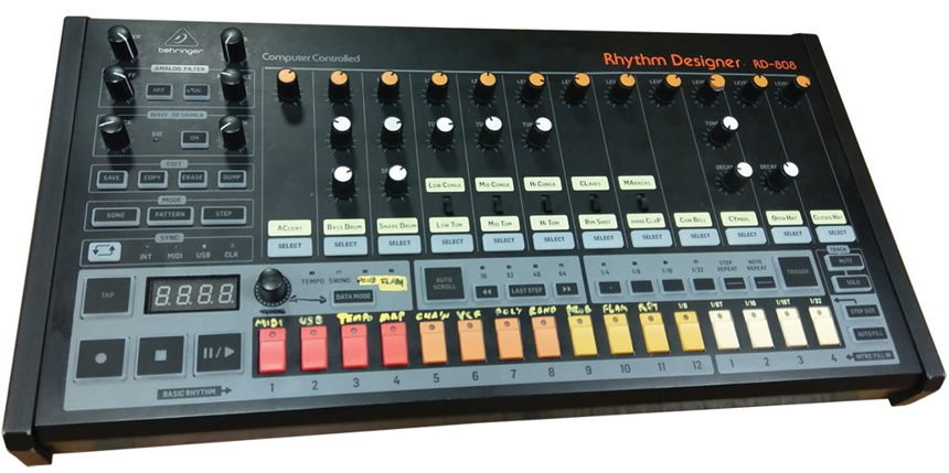 NAMM 2019 Behringer RD808 Drum Machine