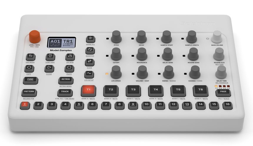 NAMM 2019: Elektron Model:Samples