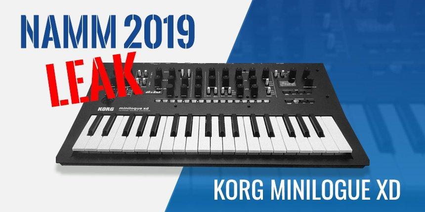 NAMM 2019 Leak: Korg Minilogue XD Analog Synthesizer • ProducerSpot