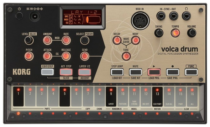 NAMM 2019 News KORG Volca Drum Synthesizer