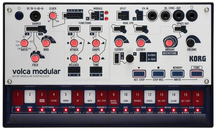 NAMM 2019 News KORG Volca Modular Synthesizer