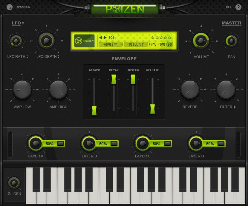 Poizen VST Plugin - Virtual Instrument