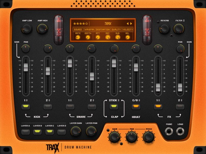 TRAX - Best Drum VST Plugin